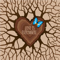 Love is everywhere. Royalty Free Stock Photo