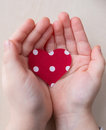 Love Hands Heart Background