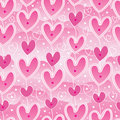 Love hang sky pink seamless pattern Royalty Free Stock Photo