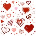 Love Heart as Romantic as Creative. Valentines Day Background