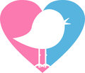Love Heart Bird