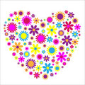 Love Heart flowers Royalty Free Stock Photo