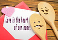 Love is the heart of our home Royalty Free Stock Photo