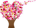 Love heart tree Royalty Free Stock Photography