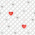 Love hearts concept texture seamless background st valentine day pattern abstract tiles Royalty Free Stock Photos