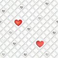Love hearts concept texture seamless background st valentine day pattern abstract tiles Royalty Free Stock Photography