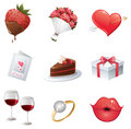 Love icon Stock Photos