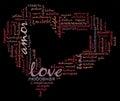 Love Info-text Cloud Various L...