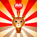 Love japanese cat Stock Photo