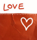 Love letter - background Stock Photos