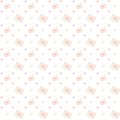 Love letter seamless pattern Royalty Free Stock Photo