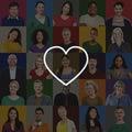 Love like passion romantic affection devotion joy life concept Royalty Free Stock Photos