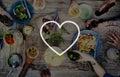 Love Like Passion Romantic Affection Devotion Joy Life Concept Royalty Free Stock Photo