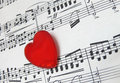 Love for music Royalty Free Stock Photo