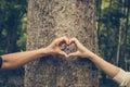 Love nature Royalty Free Stock Photo