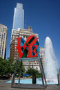 Love park philadelphia may in philadelphia close up of the s sculpture built by robert indiana was placed in the in Stock Photos