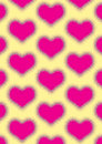Love pattern modern design of fully file Royalty Free Stock Photo