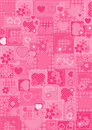 Love pink background Royalty Free Stock Image