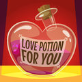 Love potion for you Royalty Free Stock Photo