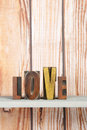 Love in print letters Stock Photography
