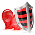 Love is Protected Concept Royalty Free Stock Photo