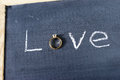 Love Ring Stock Images