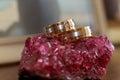 Love rings wedding Royalty Free Stock Photo