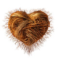 Love roots as a concept for caring for nature conservation and environment or growing a strong romance as a plant root group as a Royalty Free Stock Images