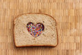 Love Sandwich Royalty Free Stock Photo