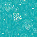 Love Seamless Pattern With Flo...