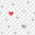 Love seamless tiled pattern with hearts lonely background st valentin s day abstract tiles texture Royalty Free Stock Images