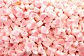 Love shape candy pink color Royalty Free Stock Photography