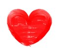 Love Shape Heart Drawn With Re...