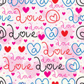 At love sign seamless pattern Royalty Free Stock Photo