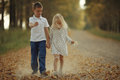 Love story  boy and girl Royalty Free Stock Photo