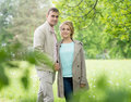 Love story, young couple. Spring. Romance relationship Royalty Free Stock Photo
