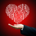 Love with technology business Stock Images