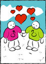 Love - Two gay men