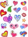 Love Valentine Hearts