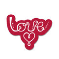 Love. Valentine`s day greeting card.