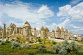 Love valley in Cappadocia, Anatolia, Turkey. Royalty Free Stock Photo