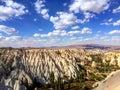 Love valley, Goreme, Turkey. Royalty Free Stock Photo