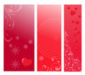 Love web banners Stock Photography