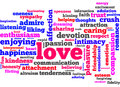 Love words Royalty Free Stock Photos