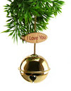 Love Xmas Bell Royalty Free Stock Image
