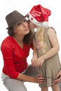 Love you kiss me! Royalty Free Stock Photography