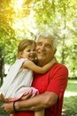 Love you so much my grandpa. Royalty Free Stock Photo