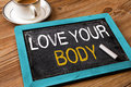 Love your body Royalty Free Stock Photo