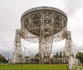 Lovell telescope Royalty Free Stock Photo