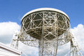 Lovell telescope pointing towards the vastness of space Royalty Free Stock Photo